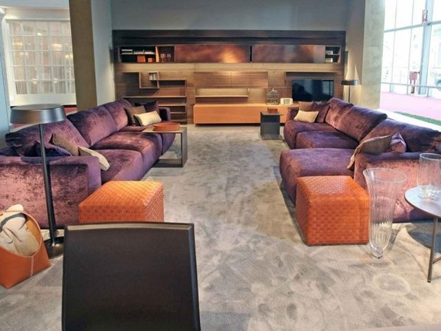 soggiorno moderno stile design classico