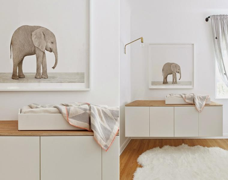 Camere da letto bianche 40 idee per la stanza dei vostri - Decorazioni stanza ...
