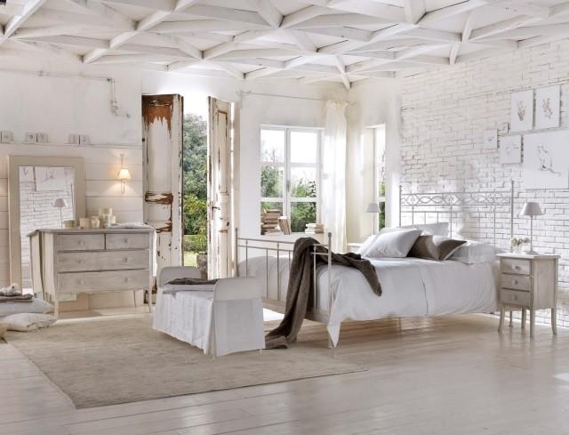 Camere da letto shabby chic interpretare il passato in modo attraente - Camere da letto shabby moderno ...