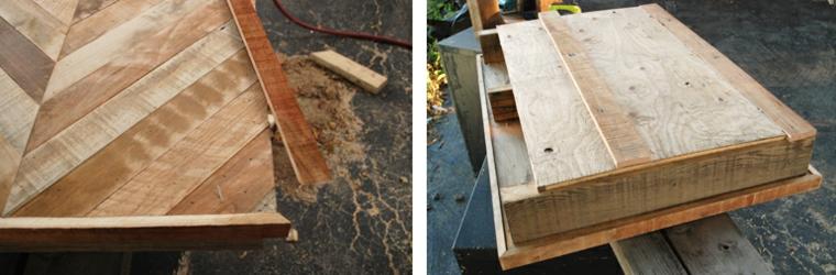 Tavolo con bancali, tutorial come realizzare un tavolino basso di pallet