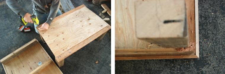 Come utilizzare i bancali di legno, tutorial per fare un tavolo di pallet