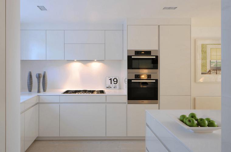 stile moderno cucina colore bianco