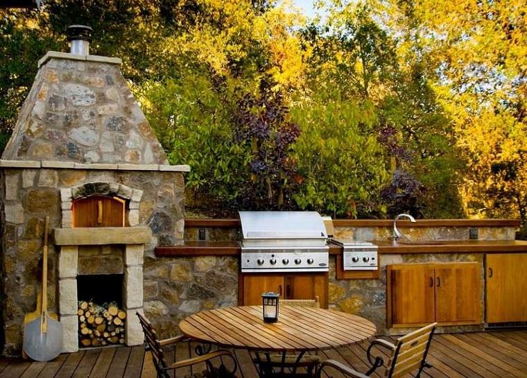 suggerimento originale particolare barbecue esterno