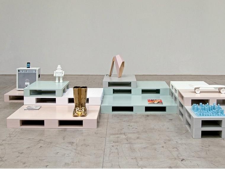 Tavoli Da Pranzo In Legno Riciclato : Tavolo con pallet riciclo creativo fai da te dei bancali di legno