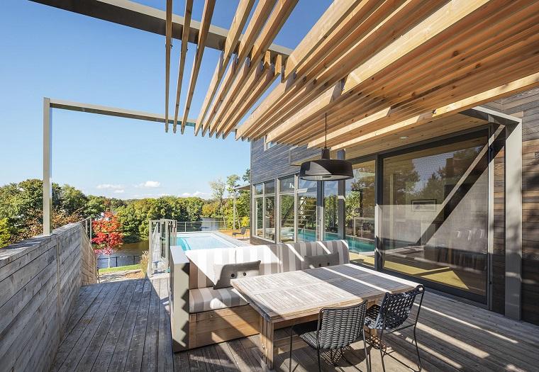 Arredare il terrazzo con mobili moderni per un outdoor da for Terrazzi arredati