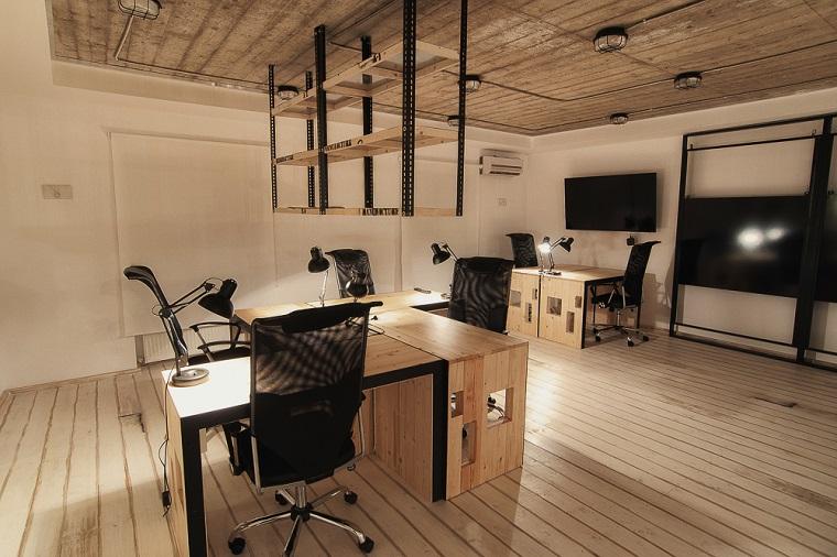 Arredo Ufficio Con Pallet E Alcune Soluzioni Originali Fai Da Te