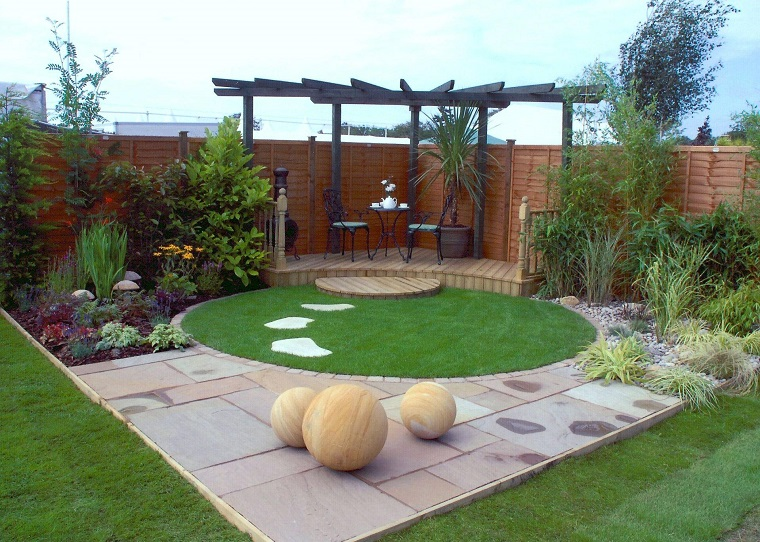 Vialetto giardino proposte interessanti con un look moderno - Giardino moderno design ...