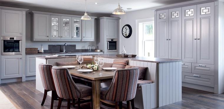 arredamento classico contemporaneo cucina bianca