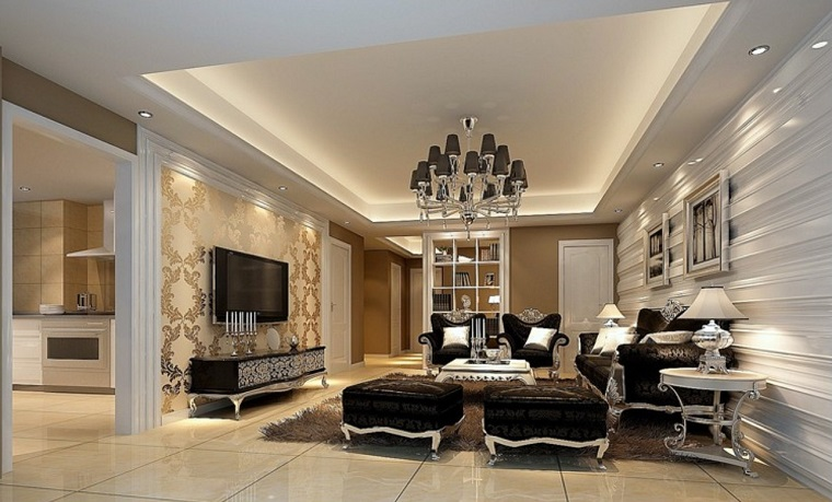 Arredamento classico moderno ispirazioni per ogni - Arredamento contemporaneo soggiorno ...