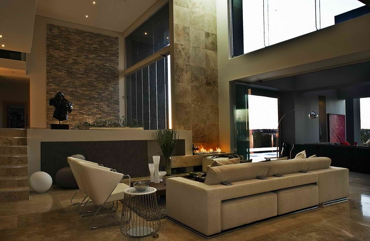Stile contemporaneo 24 idee di arredamento per la casa - Arredamento contemporaneo soggiorno ...
