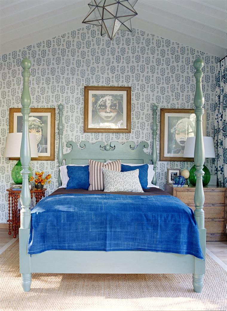 Camera da letto country tanti suggerimenti per un ambiente accogliente - Arredamento country camera da letto ...