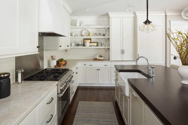 arredamento cucina colore bianco design moderno