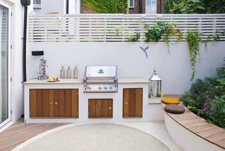 Cucine da esterno soluzioni tecnologiche e dal design - Cucina con vale ...