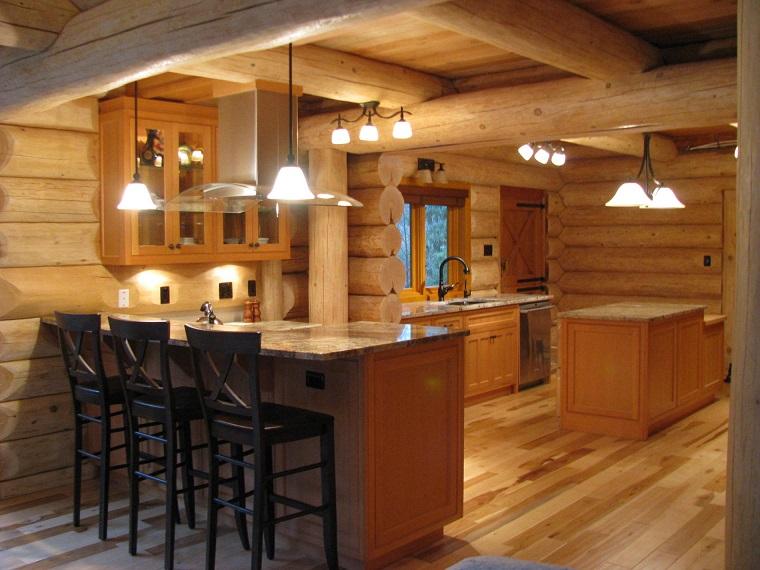 Cucine rustiche moderne una fusione di stili per un for Arredamento moderno ma caldo
