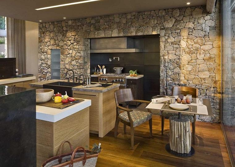 Cucine rustiche moderne: una fusione di stili per un effetto ...
