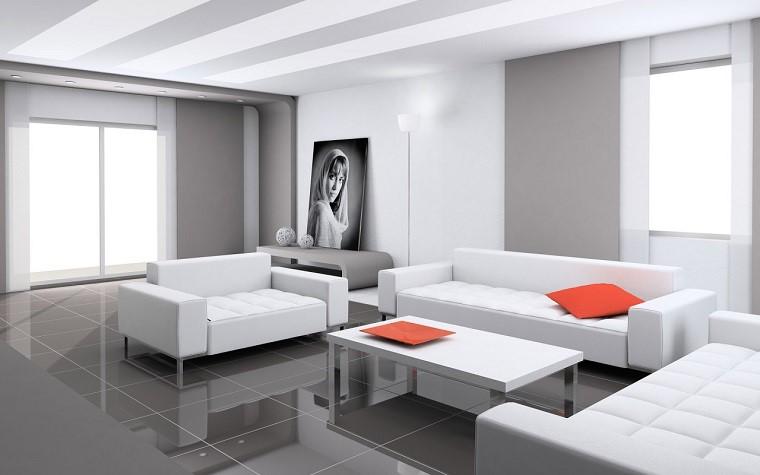 arredamento soggiorno elegante design minimal