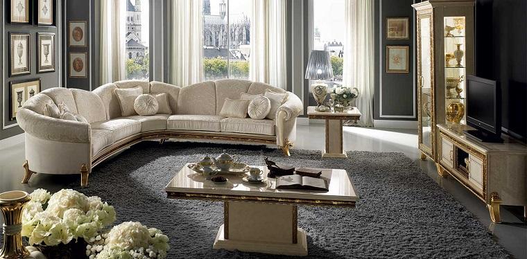 stile liberty soluzioni chic e raffinate per ogni ambiente dell 39 appartamento. Black Bedroom Furniture Sets. Home Design Ideas