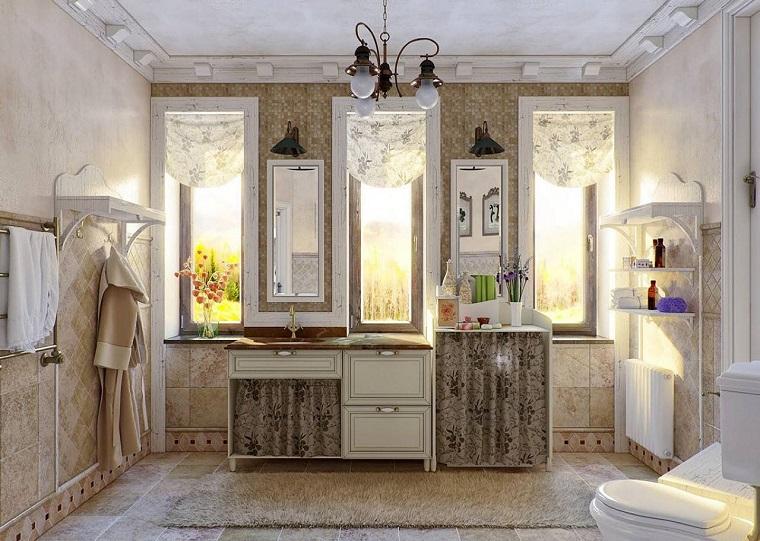 Arredamento provenzale come conferire all 39 intera casa un - Bagno stile provenzale ...