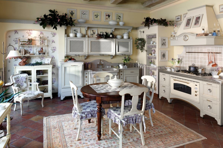 arredamento stile provenzale idea mobili cucina