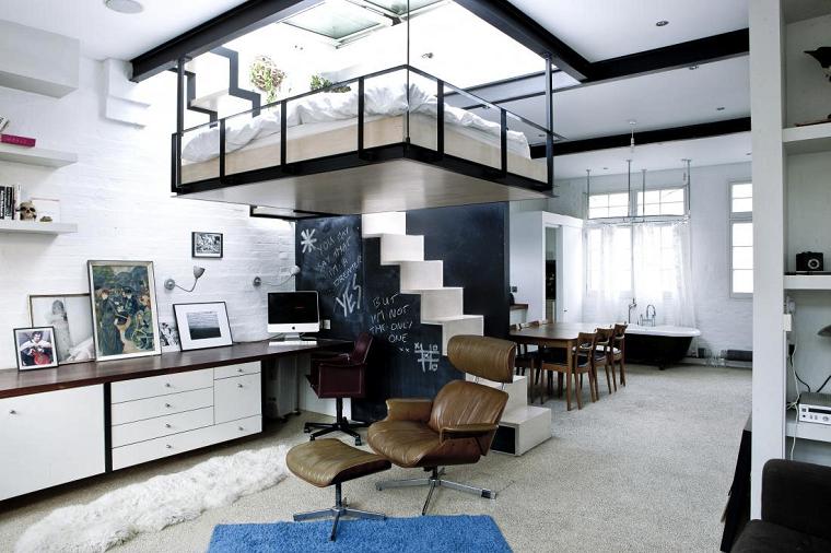 arredare casa monolocale open space design moderno