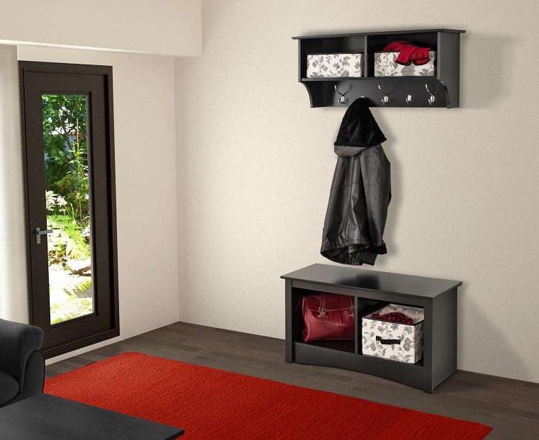 Arredamento ingresso funzionalit e design al primo posto for Aggiungendo un mudroom al lato della casa