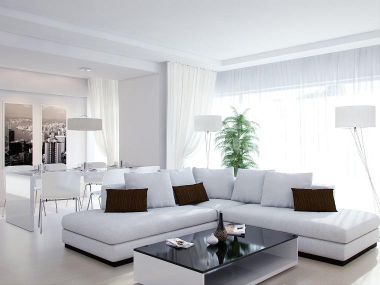 Mobili bianchi per il soggiorno: ecco come creare un ambiente