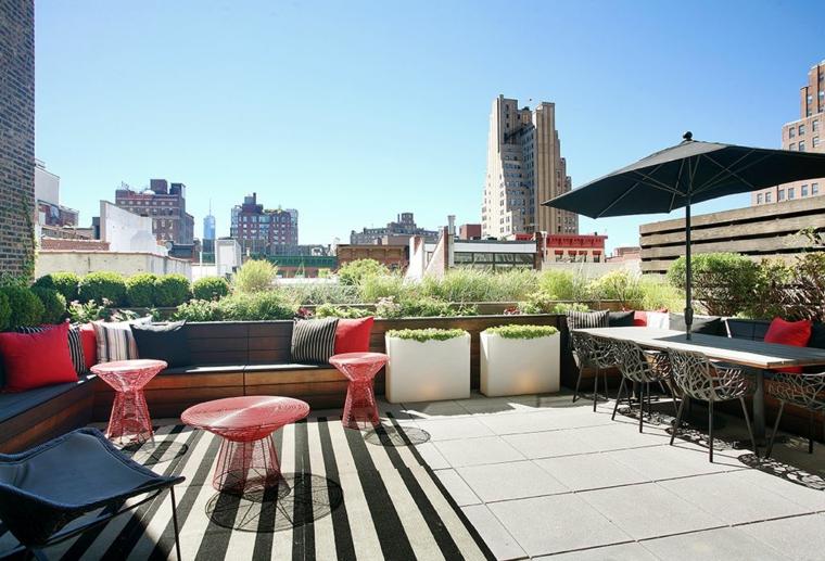 Le terrazze - ecco come arredarle spendendo poco ...