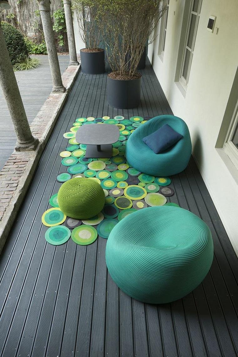 arredi per esterni colorati design moderno