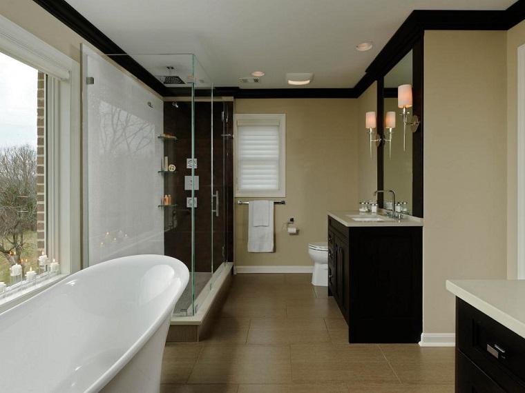 Rivestimento bagno tante idee moderne per rinnovarne il - Arredo bagno semplice ...
