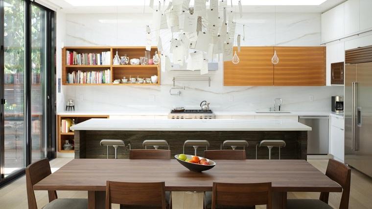 Cucina open space ecco come fondere due ambienti in un for Piccola cucina a concetto aperto