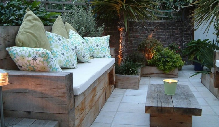 arredo giardino mobili legno idea fai da te