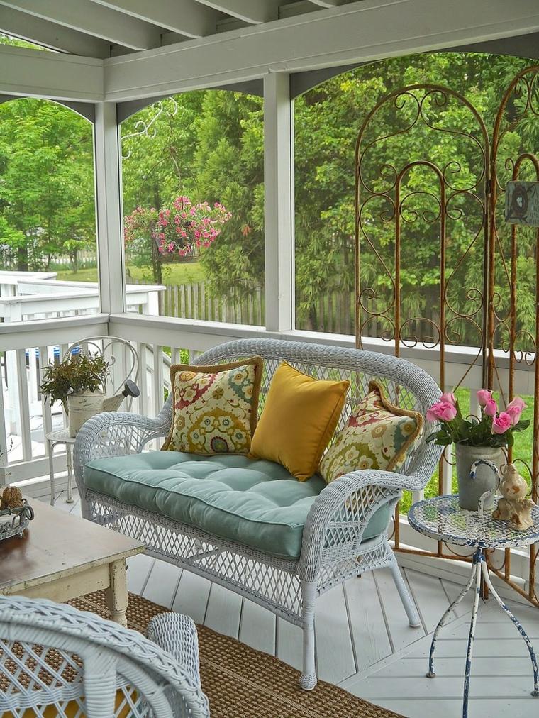 Arredamento stile provenzale lo spirito della provenza in casa vostra - Mobili per veranda ...