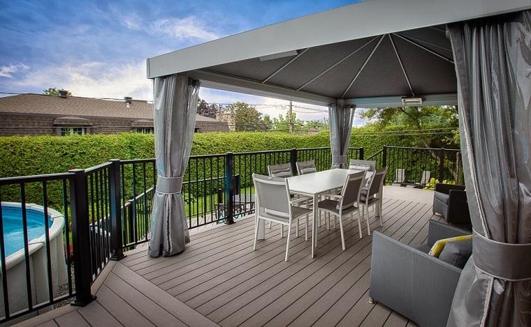 Arredare un terrazzo di design e creare un angolo davvero for Mobili terrazzo