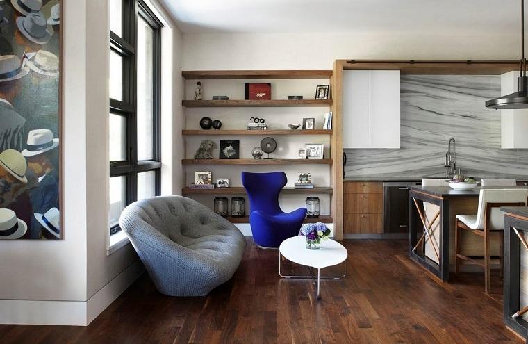 Urban style di arredamento tante idee per un interior for Zona giorno moderna