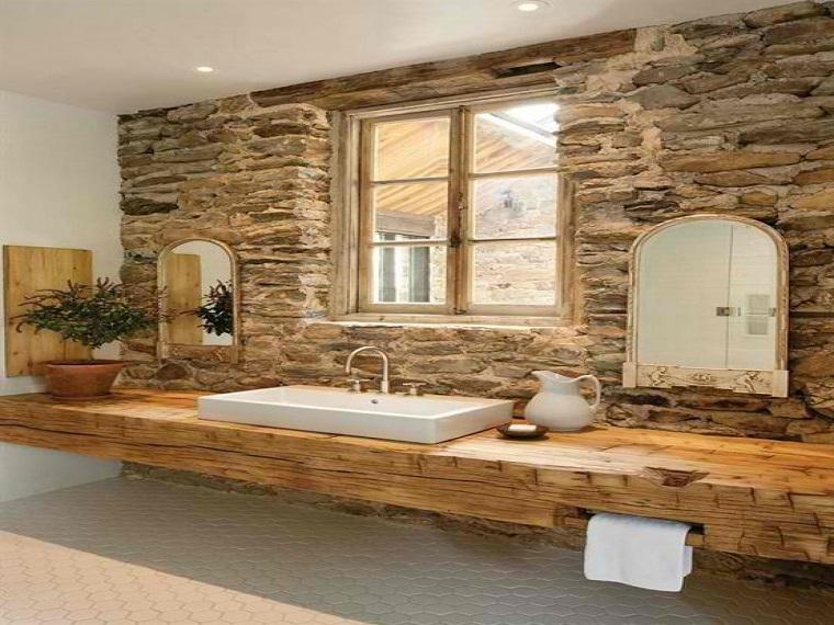 Bagni in pietra suggerimenti originali per il rivestimento dal