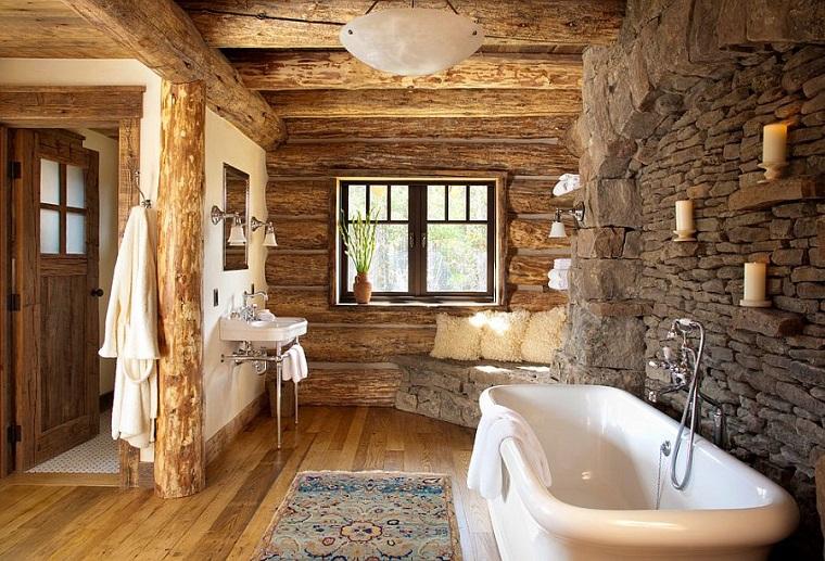 Rivestimenti bagno rustico madeira de demolição julio lima