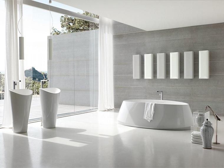 bagno design stile moderni sanitari colore bianco