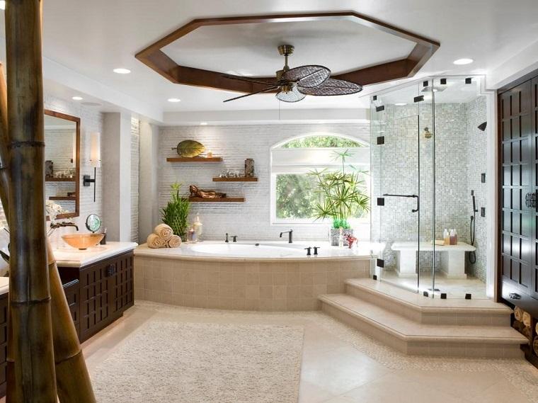bagno molto grande vasca box doccia