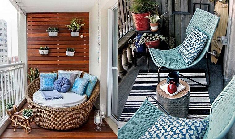 Balcone ecco come arredare uno spazio piccolo in modo for Arredare balconi piccoli