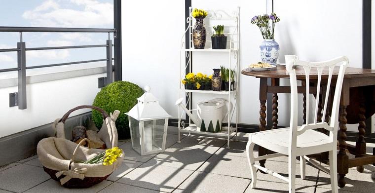 balconi piccole dimensioni elementi design