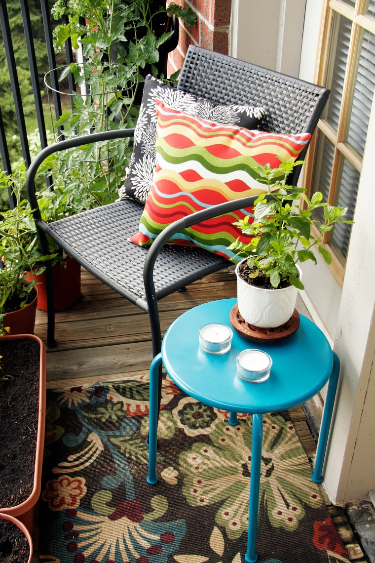 balconi piccole dimesioni area caffe