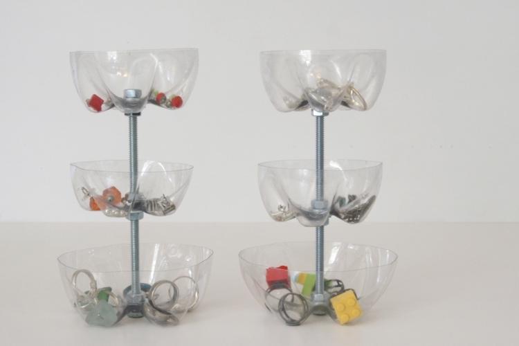bottiglie di plastica idea semplice pratica funzionale