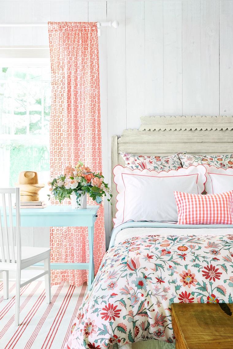 Camera da letto country tanti suggerimenti per un ambiente accogliente - Tende country camera da letto ...
