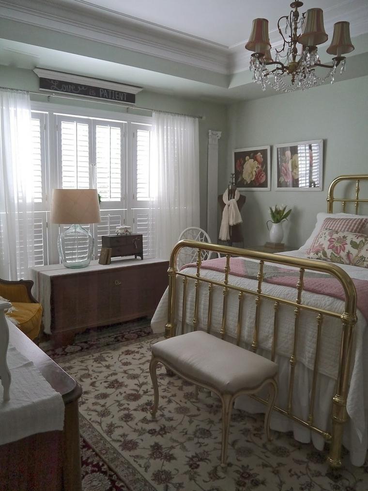 Arredamento stile provenzale lo spirito della provenza in - Camera da letto in stile provenzale ...