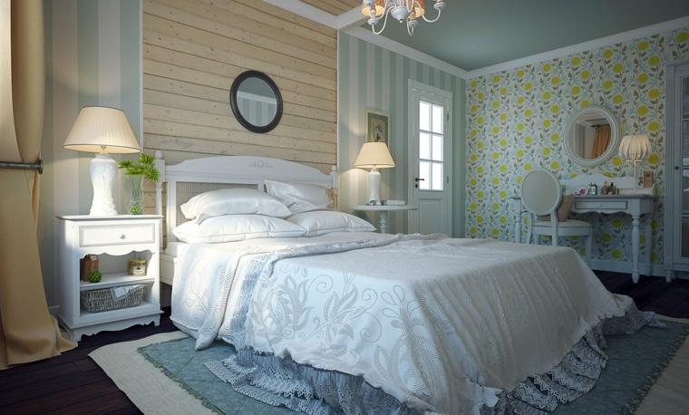 camera letto mobili decorazioni stile provenzale