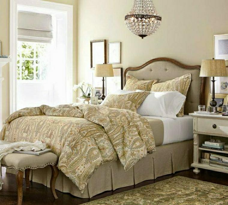 Camere da letto provenzali alcune idee molto chic per la - Testate letto particolari ...