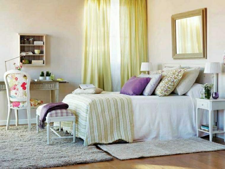 Camere da letto provenzali alcune idee molto chic per la - Grandezza letto matrimoniale ...
