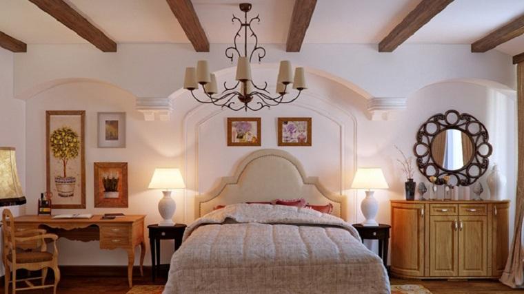 Camera Da Letto Stile Provenzale. Beautiful Boiserie C Arredamento ...
