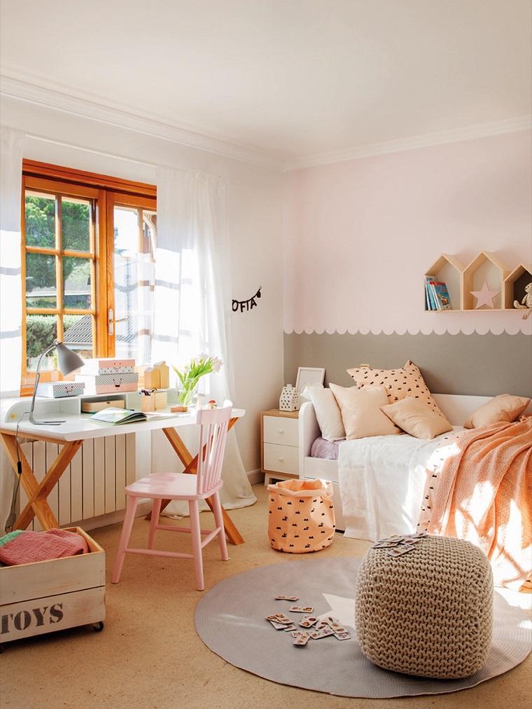 Idee per arredare casa stili tendenze e consigli pratici - Disposizione mobili cameretta ...