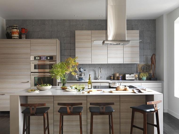 Parete Cucina Moderna.Colori Pareti Cucina 24 Abbinamenti Veramente Originali